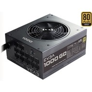 EVGA EVGA 210-GQ-1000-V1 GQ 80 Plus Gold, 1000W ECO Mode Semi Modular Power Supply