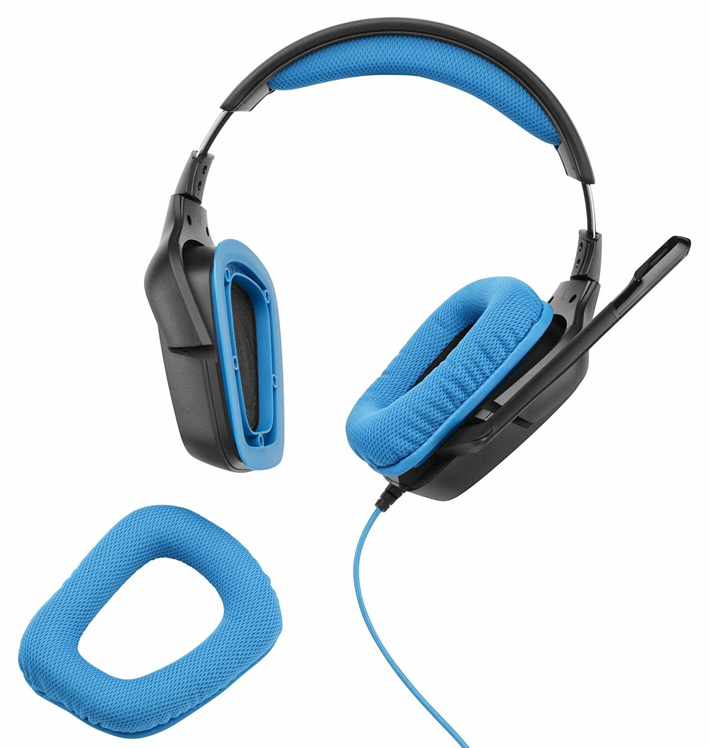 f3cf9b303ba Logitech Logitech G430 7.1 DTS Headphone: X and Dolby Surround Sound Gaming  Headset for PC