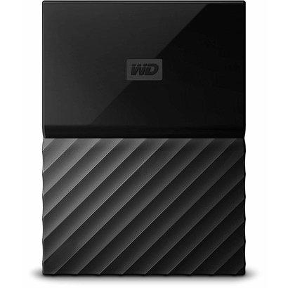 WD WD 1TB Black My Passport Portable External Hard Drive - USB 3.0 - WDBYNN0010BBK-WESN