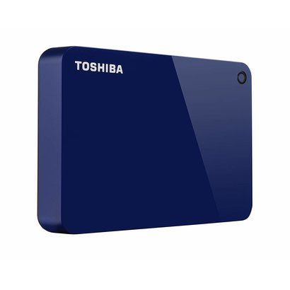 Toshiba Toshiba Canvio Advance 4TB Portable External Hard Drive USB 3.0, Blue (HDTC940XL3CA)