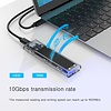 ORICO ORICO Aluminium M.2 SSD Enclosure for M.2 NVMe SSD to USB 3.1 Gen2 Type-C Mini SSD Case Clip 10Gbps Support UASP Protocol With Type-C to C Cable