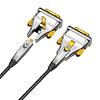 Gigacord Gigacord Fiber Optic HDMI 2.0 Cable 4K 60Hz AOC Fiber Cable Support HDCP 2.2, 4:4:4, 18Gbps, HDR 12bit, Metal Connectors (Choose Length)
