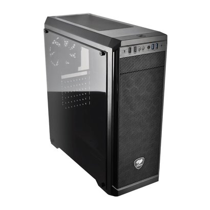 Cougar Cougar MX330-G MX330 Mid Tower Case with Full Tempered Glass Window and USB 3.0