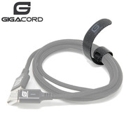 "Gigacord Gigacord 5"" Velcro Cable Tie, Black (Choose Quantity)"