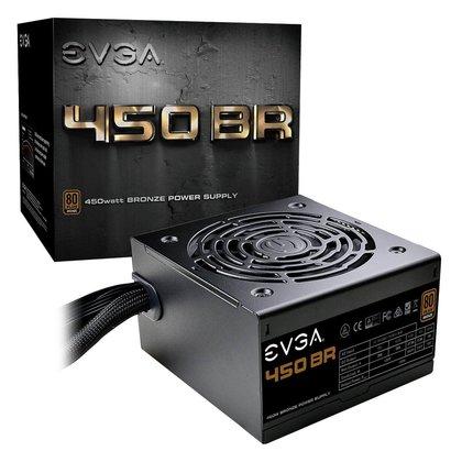 EVGA EVGA 450 BR, 80+ Bronze 450W, 3 Year Warranty, Power Supply 100- BR-0450-K1