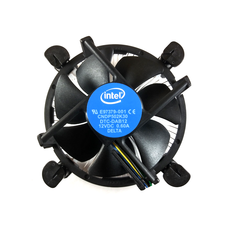 Intel Intel Stock 4-Pin Connector CPU Cooler 115X With Aluminum Heatsink & 3.5-Inch Fan With Pre-Applied Thermal Paste
