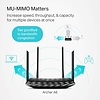 TP-Link TP-Link AC1200 Smart WiFi Router - 5GHz Gigabit Dual Band MU-MIMO Wireless Internet Router, Long Range Coverage by 4 Antennas (Archer A6)
