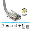 Cat5e CMR Non-Boot Patch Cable Gray (Choose Length)