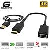 Gigacord Gigacord HDMI to DisplayPort Adapter Converter, HDMI Male to Displayport Female, Black