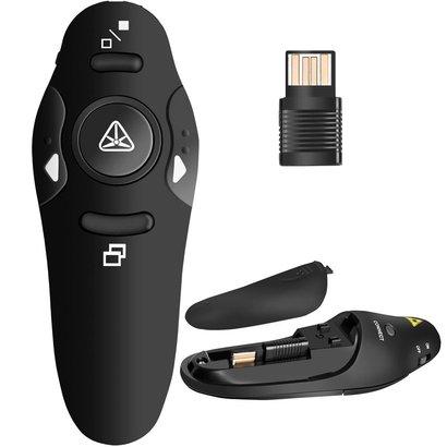 RF 2.4GHz Wireless Presenter Remote Presentation USB Control PowerPoint PPT Clicker