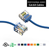 Gigacord Cat6A UTP Super-Slim Ethernet Network Cable 32AWG Blue (Choose Length)