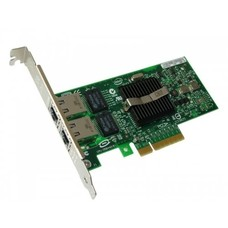 Intel Dell Intel Pro X3959 Dual Port Gigabit Ethernet NIC Card PCI-E D33682 C57721-05 Low Profile Bracket