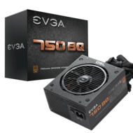 EVGA EVGA 750 BQ, 80+ Bronze 750W, Semi Modular, 5 Year Warranty, Includes Free Power On Self Tester, Power Supply 110-BQ-0750-V1
