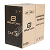 Gigacord Gigacord 1,000 Foot bulk Cat5e Ethernet Cable Wire UTP Pull Box 1000ft 1K Cat-5e Style Gray