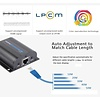 Lenkeng LKV372A 1080P Lenkeng HDMI Powered Network Extender Over Ethernet LAN RJ45 Cat 6 For HD 1080P DVD PS3 Projector up to 40 Meters Unlimited Extender by Transmitter & Receiver
