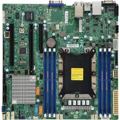 Supermicro SUPERMICRO MBD-X11SPM-F-O Micro ATX Server Motherboard Intel C621