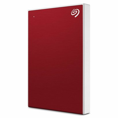 Seagate Seagate Backup Plus Slim 1TB External Hard Drive Portable HDD – Red USB 3.0 for PC Laptop and Mac, STHN1000403