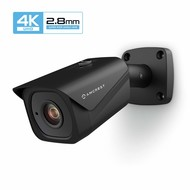 Amcrest Amcrest UltraHD 4K (8MP) Outdoor Bullet POE IP Camera, 3840x2160, 131ft NightVision, 2.8mm Lens, IP67 Weatherproof, MicroSD Recording, Black (IP8M-2496EB)