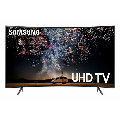 Samsung Samsung UN55RU7300FXZA Curved 55-Inch 4K UHD 7 Series Ultra HD Smart TV with HDR and Alexa Compatibility (2019 Model)