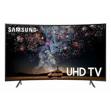Samsung Samsung UN65RU7300FXZA Curved 65-Inch 4K UHD 7 Series Ultra HD Smart TV with HDR and Alexa Compatibility (2019 Model)