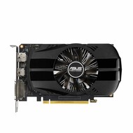 ASUS ASUS GeForce GTX 1650 4GB Phoenix Fan Overclocked Edition HDMI DP DVI Graphics Card (PH-GTX1650-O4G)