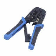 Ratchet Ethernet Crimping Tool with Cutter Stripper All-in-one Tool