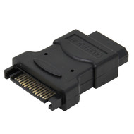 Gigacord SATA to LP4 Female Molex Power Adapter Single 1-Pack