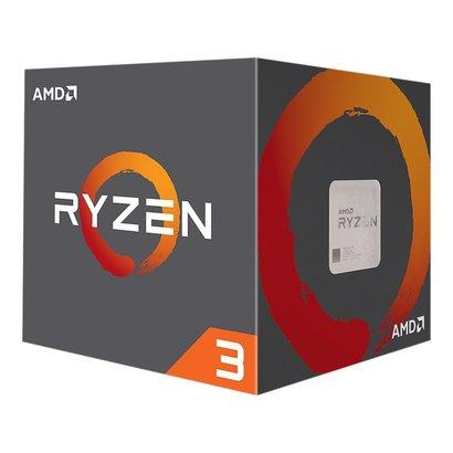 AMD AMD RYZEN 3 1200 4-Core 3.1 GHz (3.4 GHz Turbo) Socket AM4 65W YD1200BBAEBOX Desktop Processor