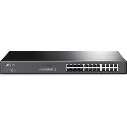TP-Link TP-LINK TL-SG1024 10/100/1000Mbps 24-Port Gigabit 19-inch Rackmountable Switch, 48Gbps Renewed
