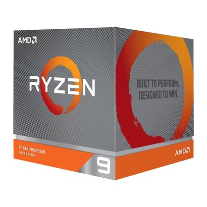 AMD AMD RYZEN 9 3900X 12-Core 3.8 GHz (4.6 GHz Max Boost) Socket AM4 105W 100-100000023BOX Desktop Processor