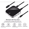 Gigacord Gigacord Bluetooth 4.1 2 in 1 3.5mm AUX optical bluetooth receiver and transmitter Wireless Audio for TV and PC