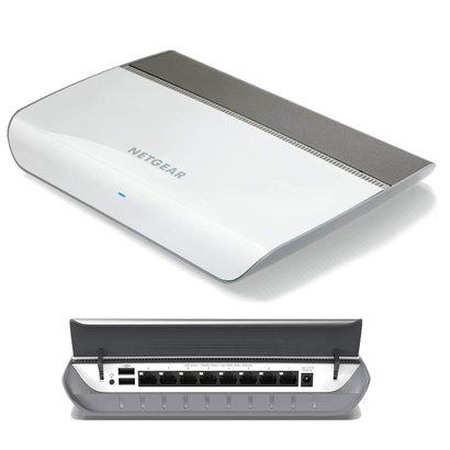 Netgear NETGEAR 8-Port Gigabit Ethernet Smart Managed Plus Switch (GS908E) - Desktop Housing with Integrated Ethernet Cable Management, and Fanless Design