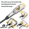 Gigacord Gigacord Fiber Optic HDMI 2.0 Cable (A-D) 4K 60Hz AOC Fiber Cable Support HDCP 2.2, 4:4:4, 18Gbps, HDR 12bit, Metal Connectors