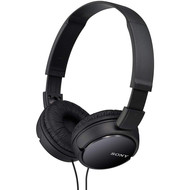 Sony Sony MDRZX110/BLK ZX Series Stereo Headphones (Black)