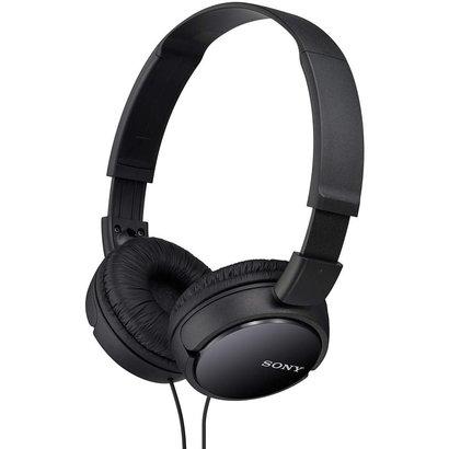 Sony Sony MDRZX110/BLK ZX Series Stereo Headphones (Black)
