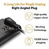 Gigacord Gigacord 6-Outlet, 4 USB 2.4A 900j Surge Power Strip, 6.5ft Cord, Black