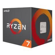 AMD AMD RYZEN 7 2700 8-Core 3.2 GHz (4.1 GHz Max Boost) Socket AM4 65W YD2700BBAFBOX Desktop Processor