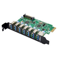 Cryo-PC Cryo-PC USB 3.0 7-Port PCIe HUB Controller Card, NEC 720201 Chipset