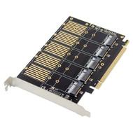 Cryo-PC Cryo-PC 5-Port SATA M.2 B Key SSD PCIe Card