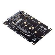 Cryo-PC Cryo-PC 2 in 1 Combo Mini PCI- E 2 Lane M.2 NGFF & mSATA SSD to SATA 3.0 III Adapter Card