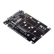 Cryo-PC Cryo-PC 2 in 1 Combo Mini PCI- E 2 Lane M.2 NGFF & mSATA SSD to SATA 3.0 III Adapter Card