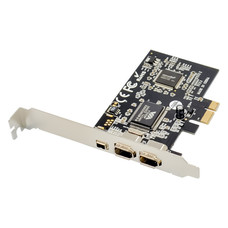 Cryo-PC Cryo-PC Firewire 400 Card 1394A 2+1 Port PCIe Controller