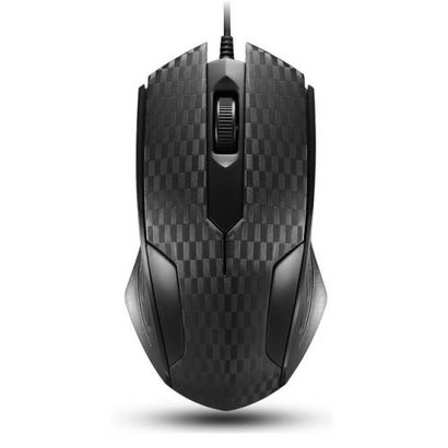 iMicro iMicro MO-159RP 3-Button USB Optical Scroll Mouse (Black)