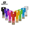 Gigacord Gigacord USB 2.0 Flash Drive, Metal Key Design (Choose Color/Size)