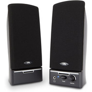 Cyber Acoustics Cyber Acoustics 4 Watt 2pc Amplified Speaker System 3.5mm Plug (CA-2014WB)