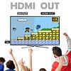4K HD Retro Video Game Console Built in 600 Classic Games Mini Retro Console Wireless HDMI Controller Output Dual Players