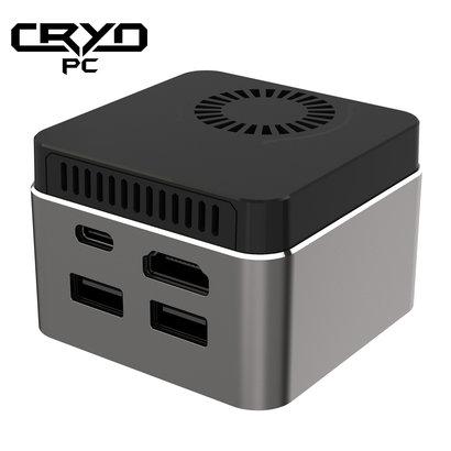 """Cryo-PC Cryo-PC Mini PC 2.44"""" x 1.65"""" N4100 CPU/4GB/64GB eMMC/Wifi"""