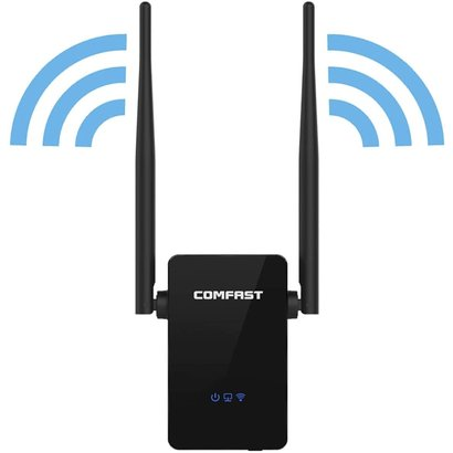Comfast Comfast 300Mbps Wireless Repeater Range Extender 2*5dBi 10/100 LAN