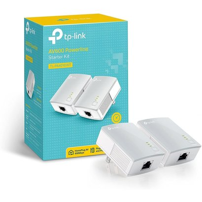 TP-Link TP-Link AV600 Powerline Ethernet Adapter - Plug&Play, Power Saving, Nano Powerline Adapter, Expand Home Network with Stable Connections (TL-PA4010 KIT)