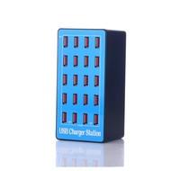 Gigacord 20 Port 100 Watt USB Charger Rapid Charging Station Desktop Travel Hub iPhone Android
